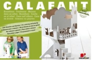Calafant D2503X - Baumhaus, Bastelset, LEVEL 3, 38x41,5x57 cm