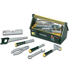 Theo Klein 8460 - Bosch Work-Box, 7 teiliges Werkzeugset