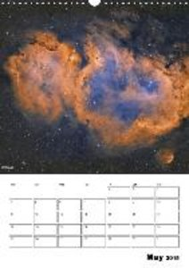 Beauty in space (Wall Calendar 2015 DIN A3 Portrait)