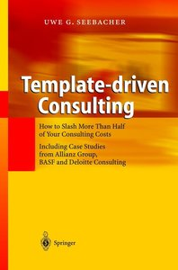 Template-driven Consulting