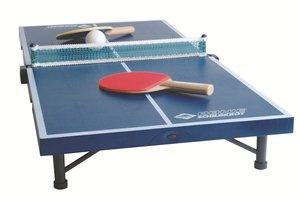 Donic Schildkröt - Mini Tischtennis Tisch, Netz, 2 Schläger, 2 B