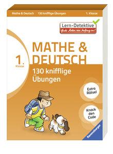 Mathe und Deutsch: 130 knifflige Übungen (1. Klasse)
