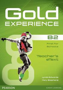 Gold Experience B2 eText Teacher CD-ROM