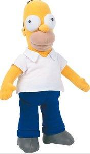 United Labels 1000182 - Simpsons: Plüschfigur Homer
