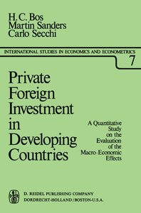 Private Foreign Investment in Developing Countries
