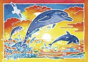 Ravensburger 29167 - Aquarelle, Spielende Delfine