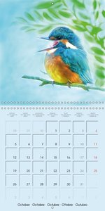 Animal Kids (Wall Calendar 2015 300 × 300 mm Square)