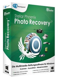 Stellar Phoenix Photo Recovery 7 (Multimedia-Rettungssoftware)