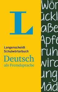 Langenscheidt Schulwörterbuch Deutsch als Fremdsprache