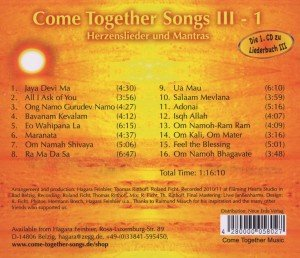Come Together Songs III/1 CD