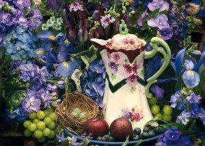 Blütenpracht, 1.000 Teile Puzzle