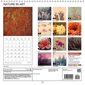 NATURE IN ART (Wall Calendar 2015 300 × 300 mm Square)