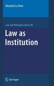 Law as Institution