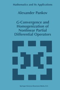 G-Convergence and Homogenization of Nonlinear Partial Differenti