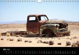 Faszination Namibia - Oldtimer mal anders (Wandkalender 2016 DIN