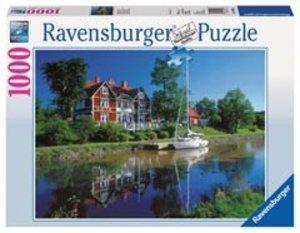 Götakanal, Schweden. Puzzle 1000 Teile