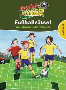 Teufelskicker-Fußballrätselblock - Wir stürmen die Tabelle