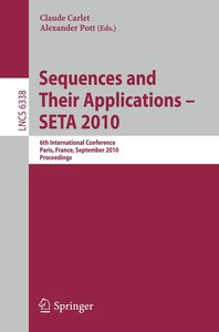 Sequences and Their Applications -- SETA 2010