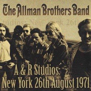 A&R Studios-New York 26th August