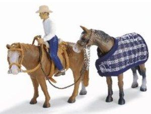 Schleich 40188 - Farm Life: Westernreitset