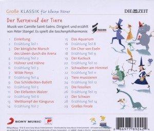 Die Taschenphilharmonie - Saint-Saens: Der Karneval der Tiere