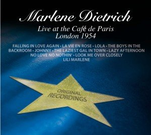 M.Dietrich Live at the Caf? de Paris-London 1954