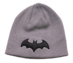 Batman Mütze Beanie Bat Logo, grau (Einheitsgröße)