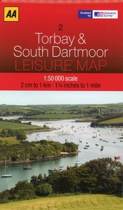 Leisure Maps WK 02 Torbay & Dartmoor 1 : 50 000