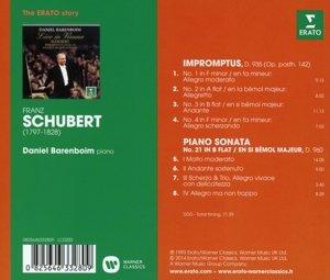 Klaviersonate 21 D.960 & 4 Impromtus D.935