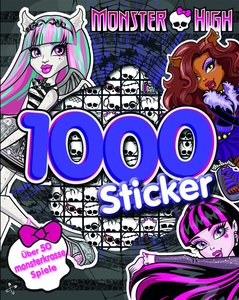 Monster High 1000 Sticker
