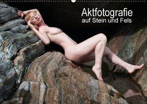 Aktfotografie auf Stein und FelsenCH-Version (Wandkalender 2016