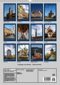 Esslingen am Neckar - Sehenswertes (Wandkalender 2017 DIN A3 hoc