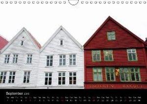 Norway - Hurtigruten (Wall Calendar 2015 DIN A4 Landscape)
