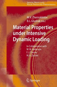 Material Properties under Intensive Dynamic Loading