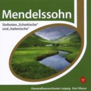 Sinfonien 3 & 4 (Schottische,Italienische)