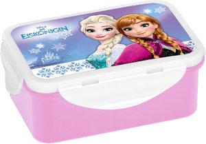 Disney FROZEN - Die Eiskönigin Brotdose Anna + Elsa, 4-fach Clip