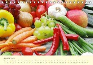 Leckereien aus der Küche (Tischkalender 2016 DIN A5 quer)
