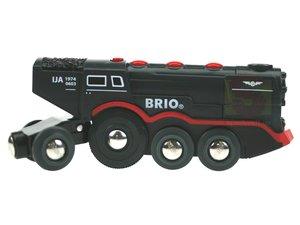 BRIO 33251 - Schwarze Dampflok (Batterie-Lok)
