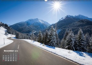 Landstraßen Europas - Abgefahren (Wandkalender 2016 DIN A2 quer)