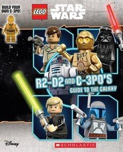 R2-D2 and C-3P0\'s Guide to the Galaxy. Book + C-3PO Minifigure