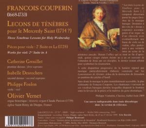 Lecons De Tenebres Pour Le Mecredy Saint - zum Schließen ins Bild klicken