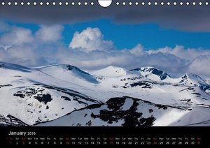 The last Wilderness in Europe. The Sarek Calendar 2016 / UK-Vers