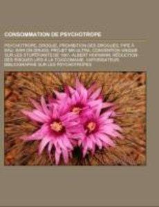Consommation de psychotrope