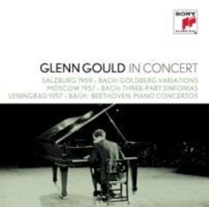 Glenn Gould in Concert: Salzburg 1959 (Bach); Moscow 1957 (Bach)