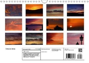 Coloured skies (Wall Calendar 2015 DIN A4 Landscape)