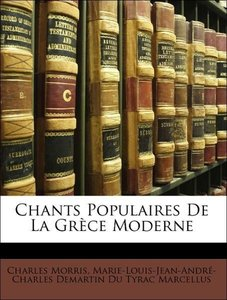 Chants Populaires De La Grèce Moderne