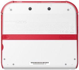 Nintendo 2DS - Konsole - weiß/rot