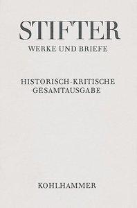 Werke und Briefe I/5. Studien, Buchfassungen II