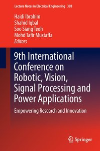 9th International Conference on Robotic, Vision, Signal Processi