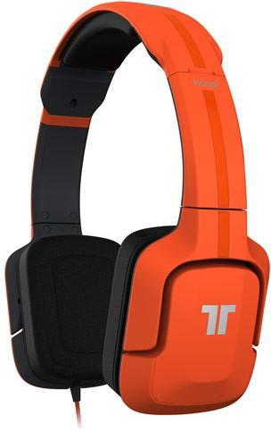 TRITTON® KunaiÖ Stereo Headset, Kopfhörer, orange - zum Schließen ins Bild klicken